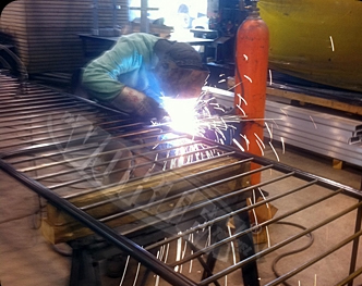 Welding Tunnel Rails